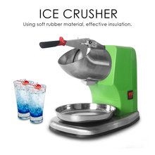 ITOP Electric Ice Crushers Shaver Snow Cone Maker Machine Ice Smoothies Slushy Maker With Double Blades new china products for sale commercial ice shaver snow cone maker ice shaving machine price