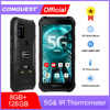 CONQUEST S21 Dual 5G Global Version Android 11 Rugged Phone Smartphone IP68 Waterproof 48MP Rear Camera  NFC Mobile Phone