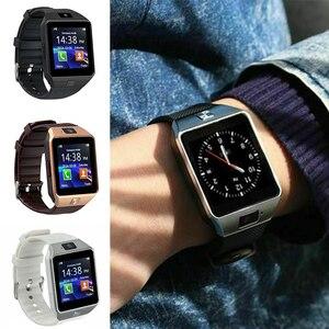 Умные часы DZ09, умные часы с поддержкой tf-карты, камеры, мужские и женские спортивные наручные часы с Bluetooth для Samsung, Xiaomi