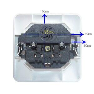 Image 2 - 2019 neue stil USB Steckdose Kostenloser versand Doppel USB Port 5V 2A pared outlet electrique outlet usb murale steckdose FB 01