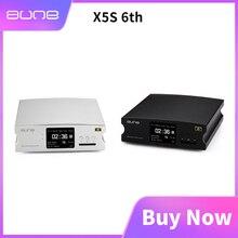 Amplificateur numérique de décodage aune X5S 6th dac 32Bit/384K entrée SD optique coaxiale RCA AES sortie haut parleur actif amplificateur domestique