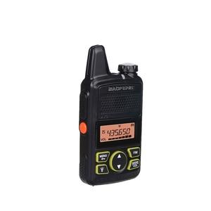 Image 4 - جهاز اتصال لاسلكي صغير Baofeng BF T1 LCD UHF FM Ham CB راديو اتجاهين للأطفال 1500mAh HF جهاز إرسال واستقبال البيني