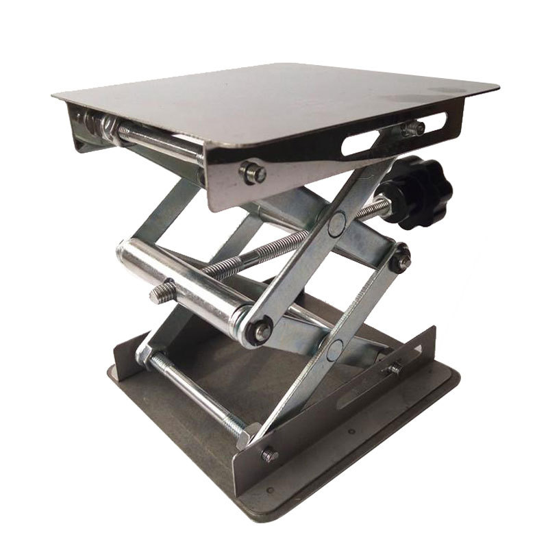 Laboratory Lifting Table Micro Manual Repair Machine Motorcycle Screw Type Platform Hand-cranking Maintenance Small Simplicity