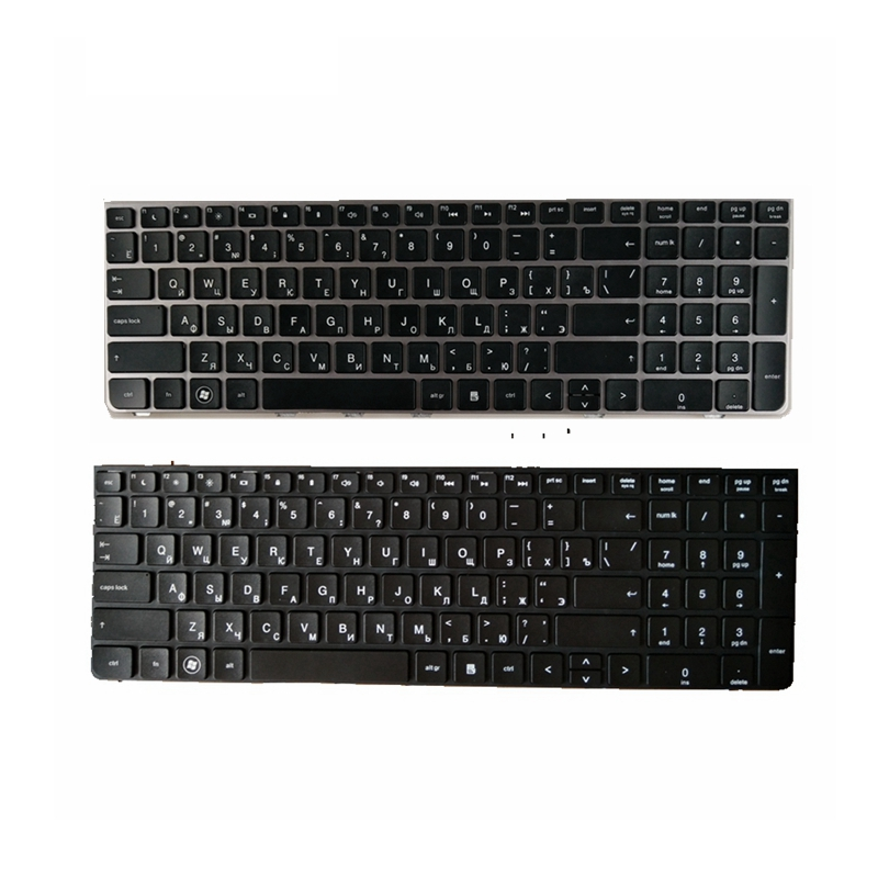 New Russian Laptop Keyboard For HP PROBOOK 4530 4530S 4730 4730S 4535S 4735s RU With Silver Frame Replace Notebook