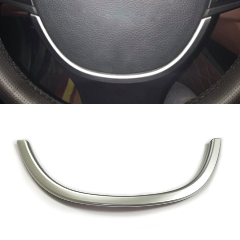 BMW 5 Series F10 520 2012 2013 2014 2015 Chrome Steering Wheel Switch Cover trim