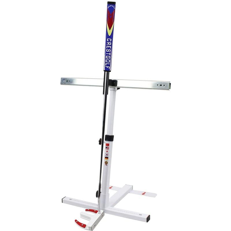 Crestgolf Golf Putting Trainer Teaching Equipment Golf Putting Posture Corrector Trainning Aid