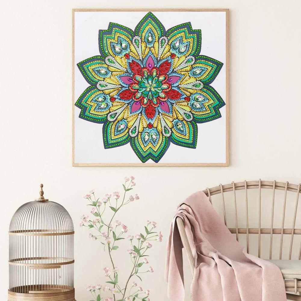 5D DIY Full Drill Diamond Painting Embroidery Mosaic Kits Bedroom Wall Arts