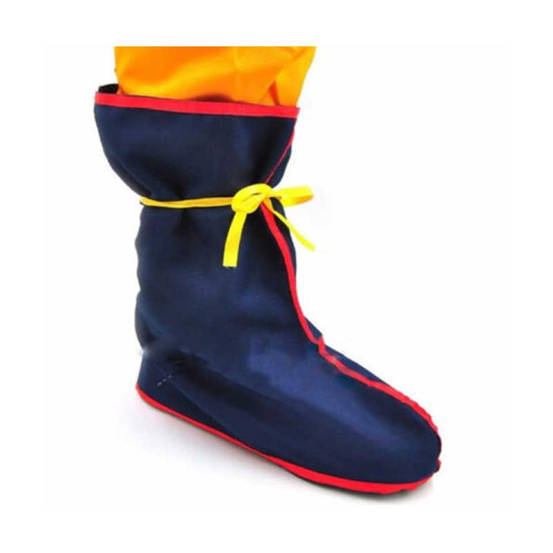 Halloween Cosplay Kostum Dragon Ball Z Anime Cosplay Goku Gohan Kostum Pesta Sepatu Boot Cove Drop Pengiriman