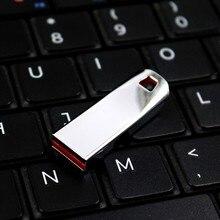Высокоскоростная флеш-карта памяти 32 Гб, флешка 64 ГБ, usb флешка 128 ГБ, металлическая Флешка 16 ГБ, 8 ГБ, USB флеш-накопитель, новейший диск на ключ