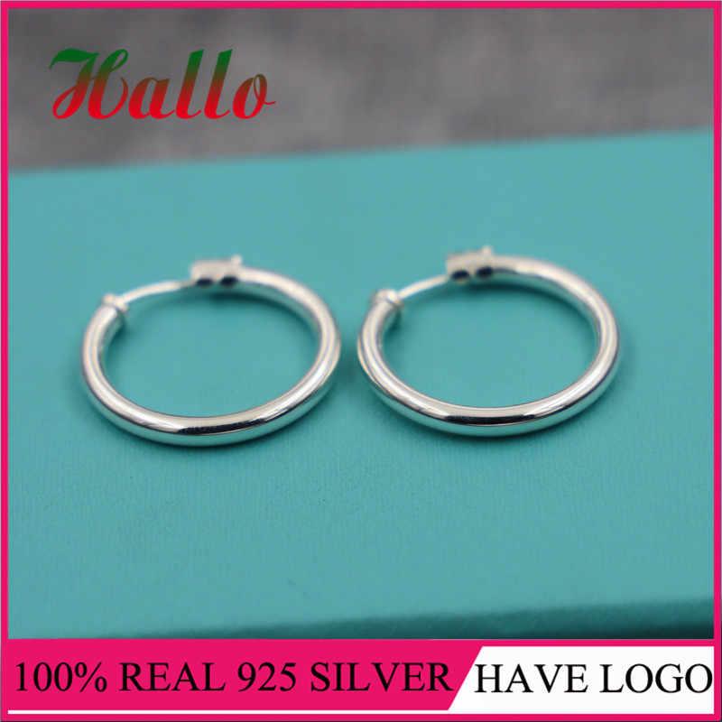 Joyería de marca, joyas de plata 925, pendientes de tuerca de piedra natural para mujer, pendientes de plata de ley 925 para mujer