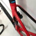2020 Стиль v тормоза велосипедные рамы Красный Черный Цвет рамы для велосипеда + руль + подседельный штырь + frok Тайвань карбоновая рама Бесплат...
