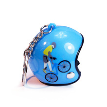 Hot Helmets Key Chain Motorcycle Safety Helmet Keychain Men Key Holder Women Cute KeyRing Trendy Key Ring for Car Purse Bag Gift 1pc creative helmet key chain zinc alloy motorcycle keychain men and women key ring trendy keyring for car purse bag gift