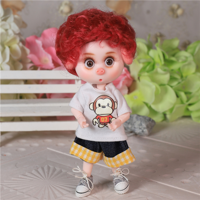 DBS Dream Fairy 1/12 BJD DODO doll 15cm doll toy ob11 mini doll with clothes shoes 7
