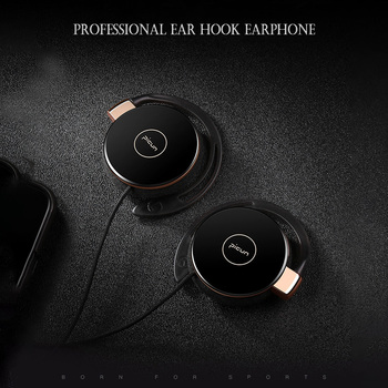 Erilles bluetooth earphone wired headphone clip-on headphone stereo ear clip with microphone Sport wired headset with microphone фото