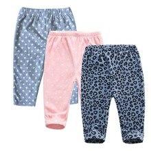 Штаны для новорожденных мальчиков и девочек повседневные штаны-шаровары унисекс штаны с рисунком лисы для детей от 6 месяцев до 24 месяцев