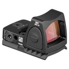 Mini rmr red dot sight colimador base glock/pistola de mão reflexivo vista escopo caber 20mm tecelão ferroviário para airsoft/caça rifle ar