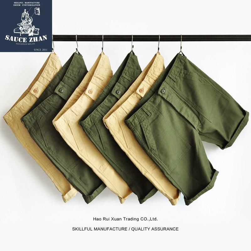 SauceZhan OG-107 Utility Fatigue Pants US Vietnam ARMY HBT PANTS VINTAGE  Mens Shorts Shorts Men Army Pants Military Pants
