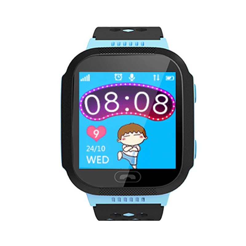 Children Smart Watch Flashlight Remote Monitor SOS Help Boys Girls Alarm Clock History Route Smartwatch For Android/IOS
