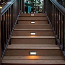 Современные алюминиевые встроенные Настенные светильники ip65