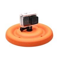 Leichte Runde Schwimm Disc Hund Spielzeug für Gopro Hero 9 8 7 6 5 Yi 4K SJCAM Sport Kamera für Go pro Zubehör