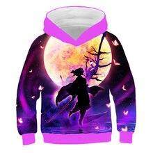 2021 Spring and autumn boy cartoon hoodie, children's clothing, Japanese cartoon pattern hooded sweatshirt