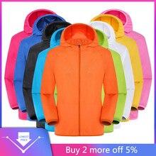 jackets Men's Women Casual Jackets Windproof Ultra-Light Rai