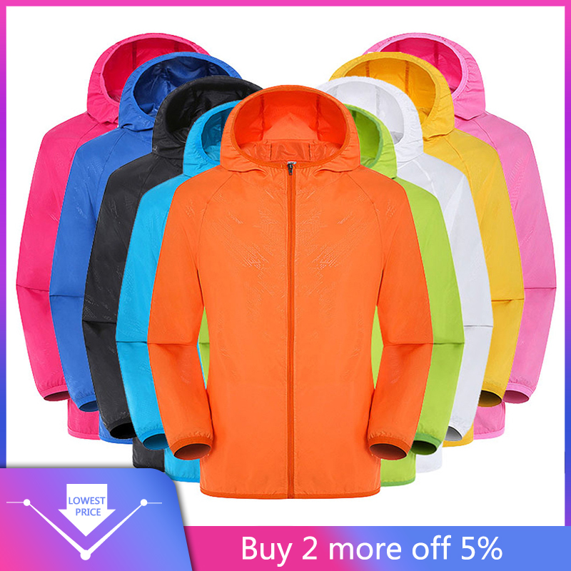 Jackets Men's Women Casual Jackets Windproof Ultra-Light Rainproof Windbreaker Top куртка мужская Streetwear Purchasing Winter