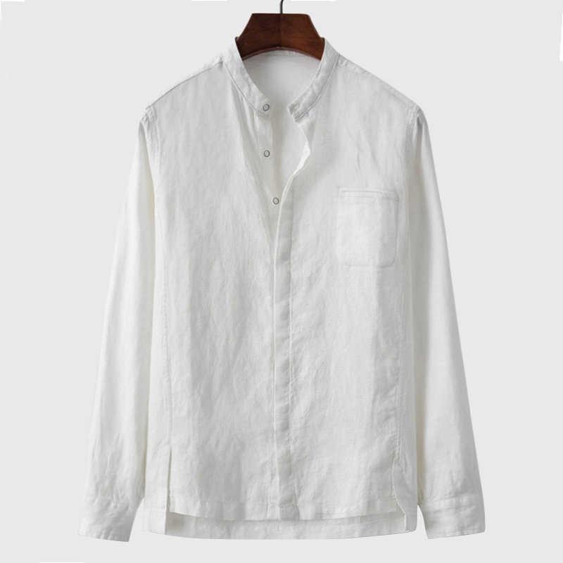 Artı boyutu 5XL yaz erkek gömlek uzun kollu avrupa tarzı erkek elbise gömlek pamuklu kıyafet Shirt erkek giyim erkek gömlek B594