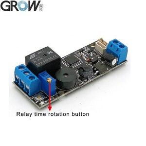 Image 2 - GROW K202+R502 A DC12V Low Power Consumption Fingerprint Access Control Board+R502 A Small Ring LED  Fingerprint Module