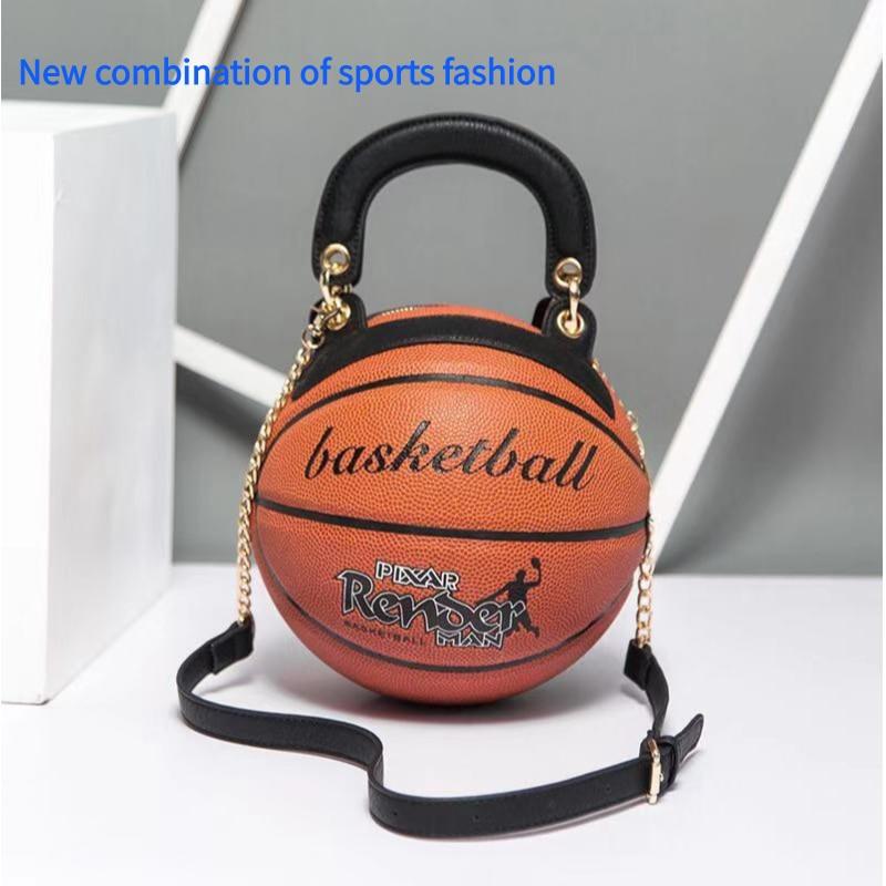 Bolsa Feminina New Fashion 2019 Round Bag  Basketball Purse  Modeling Personality Creative Crossbody Bag Shoulder Bag Handbag