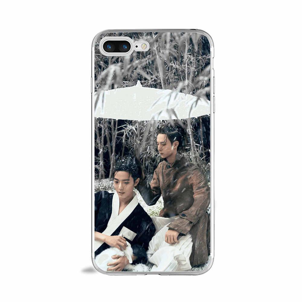 En olgunlaşmamış chenqingling Wang yibo modaosushi kılıfı için iphone 7 artı 6 6s 8 xr xs max X yumuşak TPU kılıf için huawei p20 p9 p30 lite