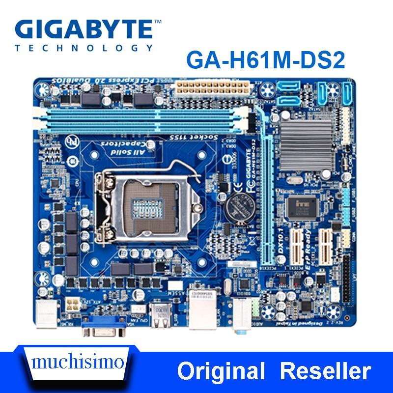 Desktop Refurbished Lga 1155 H61-Socket DDR3 H61M-DS2 BIOS I7 GIGABYTE 16G UEFI I3 I5