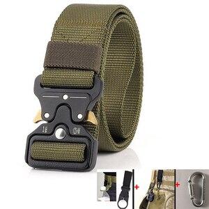 Image 1 - Military Uniform Belt Tactical Clothes Combat Suit Accessories Outdoor Tacticos Militar Equipment Army Clothing Waist Belt