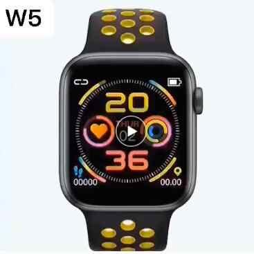Reloj inteligente W5 con bluetooth, reloj inteligente con ritmo cardíaco, pulsera de Fitness para hombres, reloj deportivo para apple watch, reloj inteligente para mujer, resistente al agua