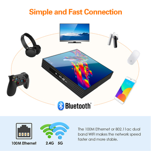 Image 3 - A95x r3 rk3318 חכם טלוויזיה תיבת אנדרואיד 10.0 טלוויזיה תיבת 4K Quad core ממיר מיני מדיה נגן 4gb 32gb 64gb 2gb16gb