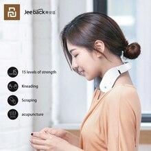 Xiaomi jeeback massageador cervical g2 dezenas pulso volta pescoço massageador infravermelho distante aquecimento cuidados de saúde relaxar trabalho