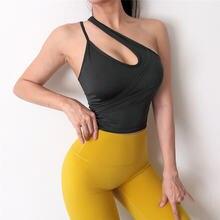 Сексуальный бюстгальтер для йоги красивый жилет фитнеса на спине
