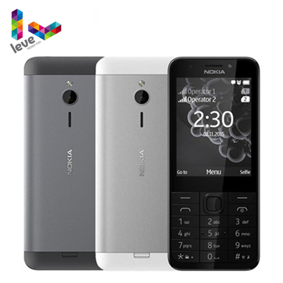 Factory Unlocked Nokia 230 GSM 2.8