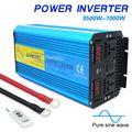 7000W Reine Sinus Welle Power Inverter DC 12V/24V ZU AC 220V/230V/240V mit Dual LED Display 3,1 EINE USB