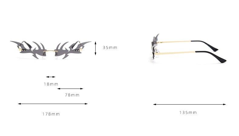 Hb40dab3b1aef4e73b5bc7f1843fcadf8B Óculos sem aro fishbone forma feminino óculos de sol claro oceano lente óculos de sol do olho de gato vintage máscaras uv400