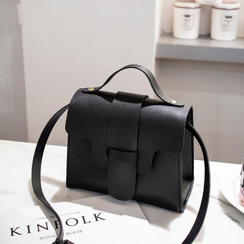 Woman Bag Tote Handbags Crossbody-Bag Messenger Small Casual PU Bolso Mujer