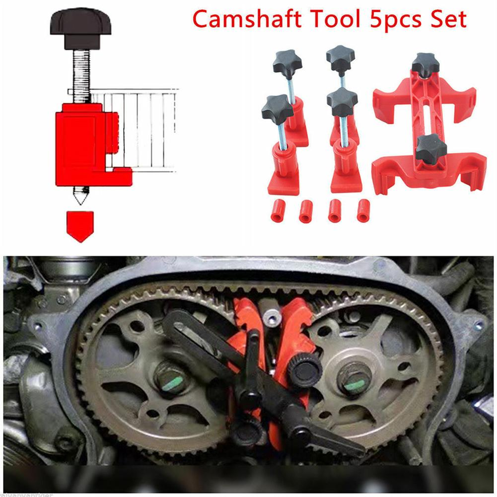 1 Set Universal Dual Cam Clamp Camshaft Engine Timing Locking Tool Useful Sprocket Gear Timing Car Accessories