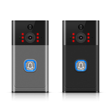 Wireless WiFi Video Doorbell Rainproof Smartphone Remote Video Camera Security T