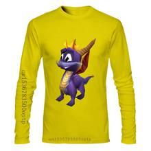 Eine yona Spyro T Hemd Spyro Gefälschte Lächeln T-Shirt Übergroßen Kurzarm T Hemd Genial Sommer Grafik Mens 100 Baumwolle t-shirt