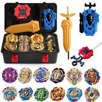 Nouveau jeu d'éclatement lanceurs Beyblade jouets arène bayblade Toupie métal rafale Avec dieu Toupie Bey lame lames jouet 8645312
