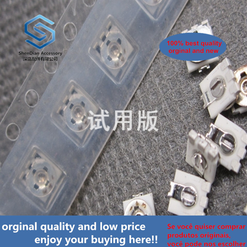 20ppcs 100% Orginal New EVM1USX30B13 SMD Potentiometer 4X4 1K 4 Feet 102 Adjustable Resistance 4x4 Single Turn