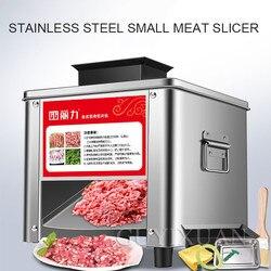 850W komercyjne elektryczne wielofunkcyjne mięso warzywa krajalnica do mięsa gospodarstwa domowego automatyczne maszynki do mielenia mięsa ze stali nierdzewnej w Roboty kuchenne od AGD na