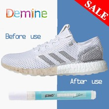 Shoes Stains Removal Waterproof Cleaning Pen Repair Durable Yellow Laundry Marker White Fabric