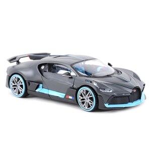 Image 5 - Maisto 1:24 בוגאטי Divo ספורט רכב סטטי למות יצוק כלי רכב אספנות דגם רכב צעצועים