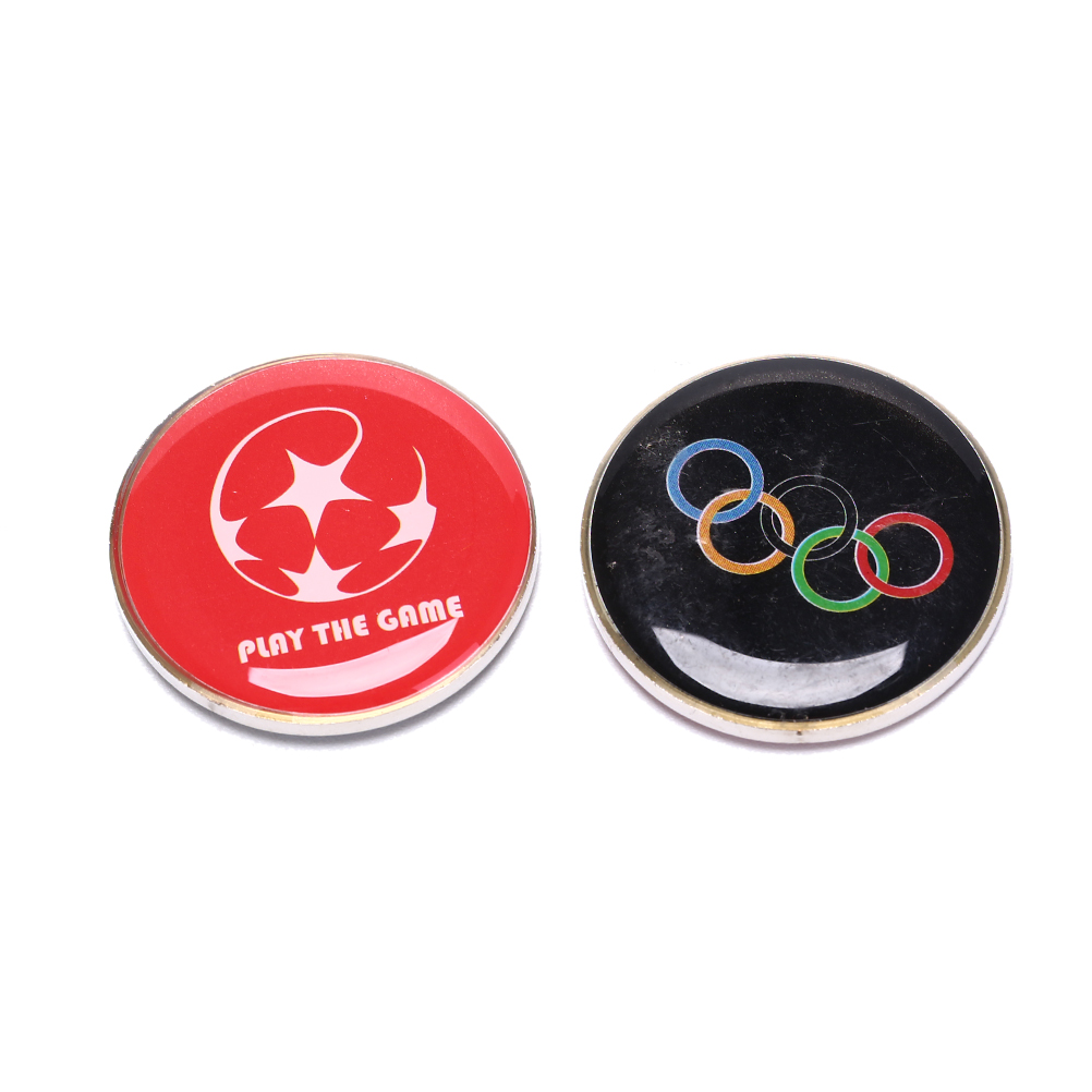 1PC Soccer Football Champion Pick Edge Finder Coin Toss Referee Side Coin Judge Flipping Professional Soccer Match Supplies
